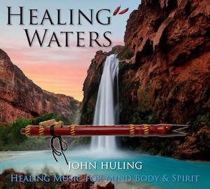 Healing Waters | John Huling Music | Cover Art | NVCD4011